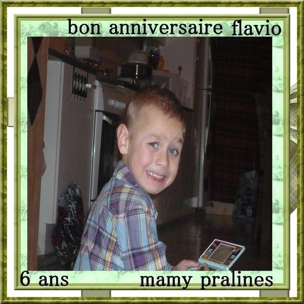 flavio 6 ans